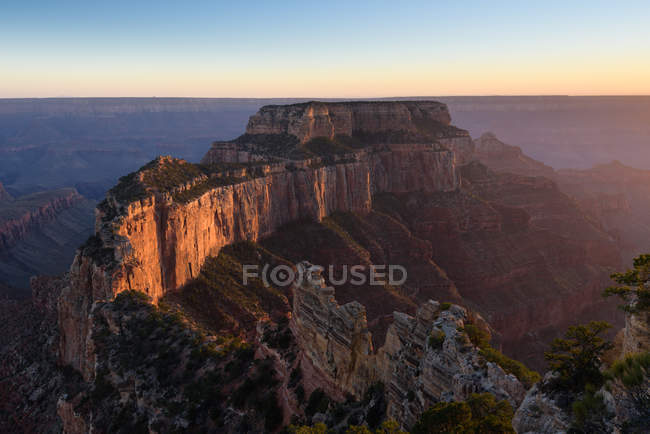 Vista panorâmica de Cape Royal, Grand Canyon, Arizona, América, EUA — Fotografia de Stock