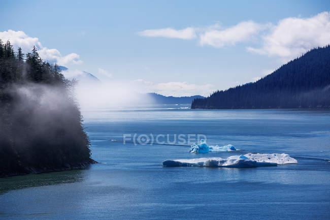 Scenic view of Tracy Arm Fjord, Juneau, Alaska, America, USA — Stock Photo