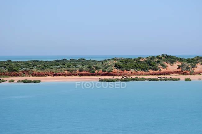 Scenic view of Beach, Geraldton, Western Australia, Australia — Stock Photo