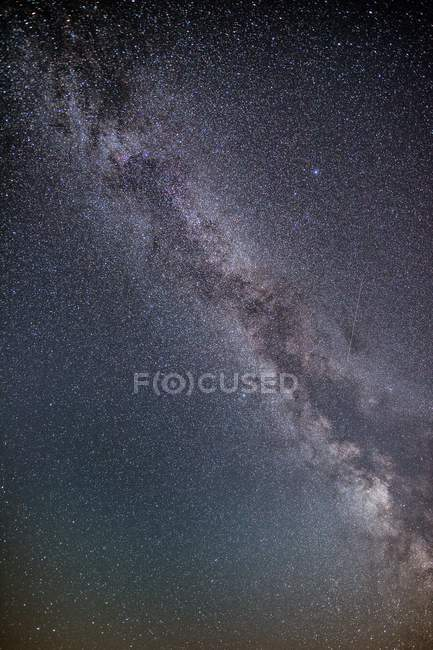 Milky way night sky full frame — Fotografia de Stock