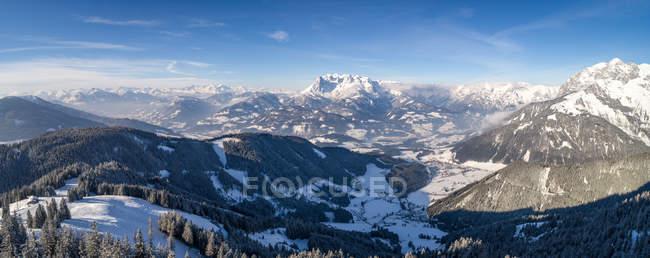 Живописный вид на горный ландшафт, Озил, Австрия — стоковое фото
