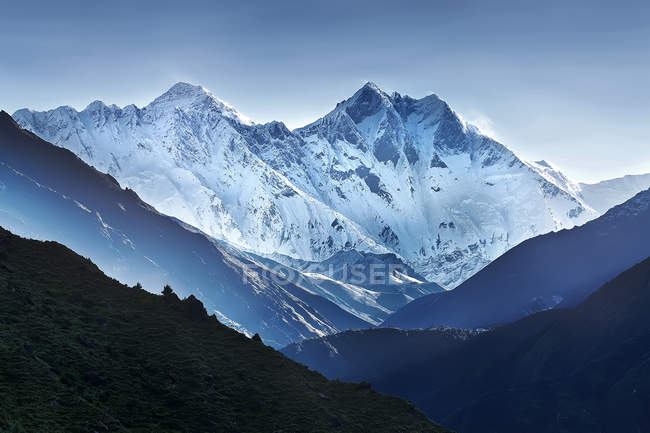 Scenic view of Himalaya mountain range, Nepal — Stock Photo