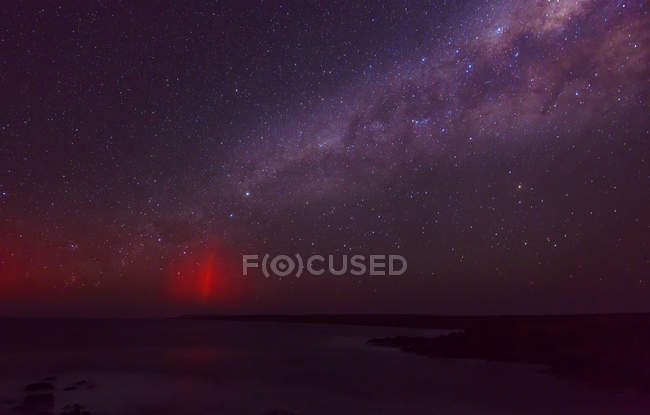 Scenic view of Milky Way in night sky — Stock Photo