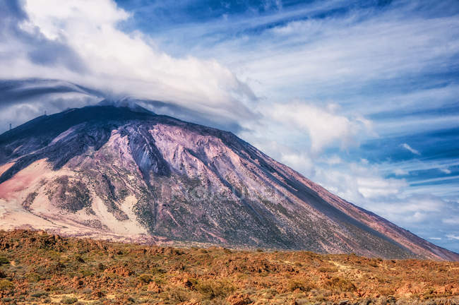 Scenic view of mount Teide, Tenerife, Canary Islands, Spain — Stock Photo