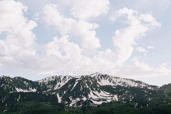 Malerische Aussicht der Wasatch Mountains, Utah, Amerika, Usa — Stockfoto
