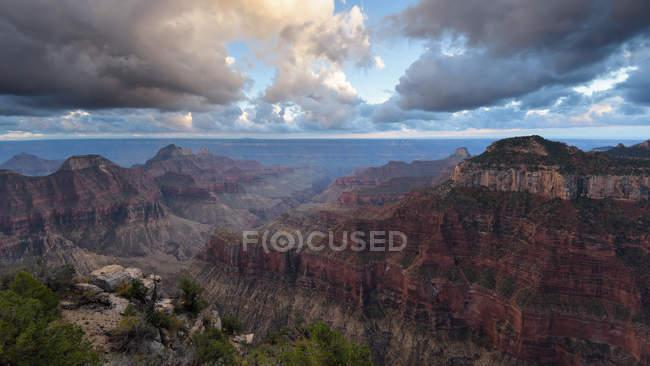 Vista panorâmica do Grand Canyon, Arizona, América, EUA — Fotografia de Stock