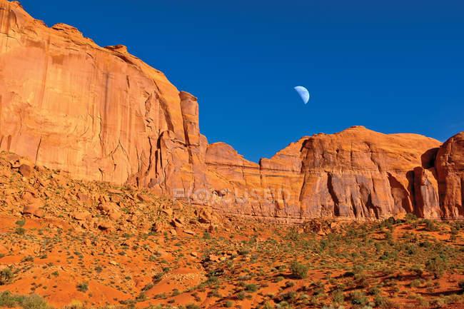 Заходу над Америці Spearhead Mesa, Долина монументів, штат Арізона, США — стокове фото