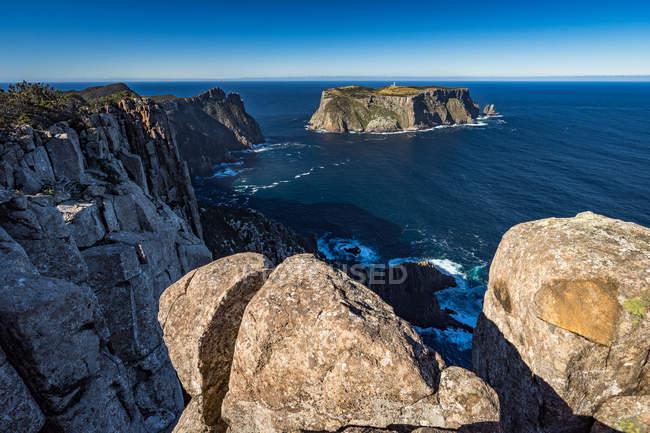 Мальовничий вид на мисі стовп, Тасманія, Австралія — стокове фото