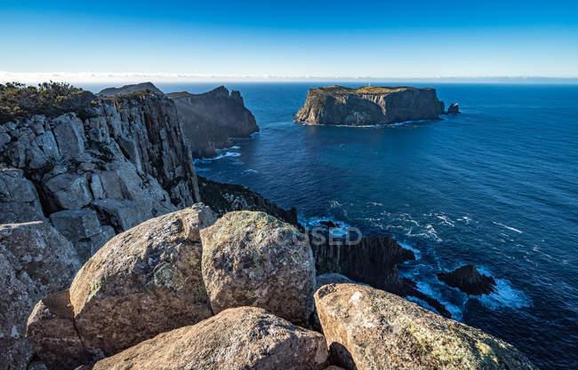 Scenic view of Cape Pillar, Tasmania, Australia — Stock Photo