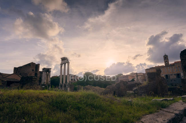 Forum Romano, Roma, Lazio, Italia — Foto stock
