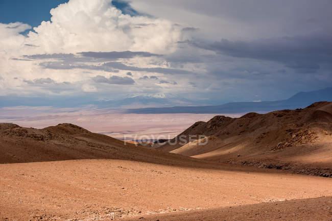 Salt flat in the Atacama Desert, Chile — Stock Photo