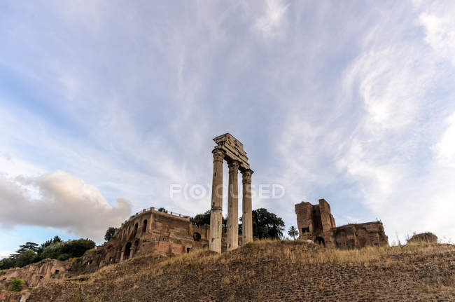 Scenic view of Roman Forum, Rome, Lazio, Italy — Stock Photo
