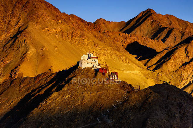 Scenic view of Leh, Ladakh, India — Stock Photo