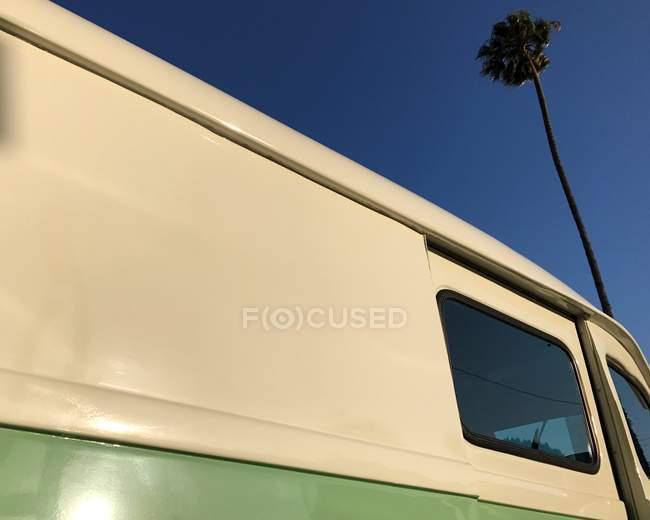 Côté d'un camion et d'un palmier, Los Angeles, Californie, Amérique, USA — Photo de stock
