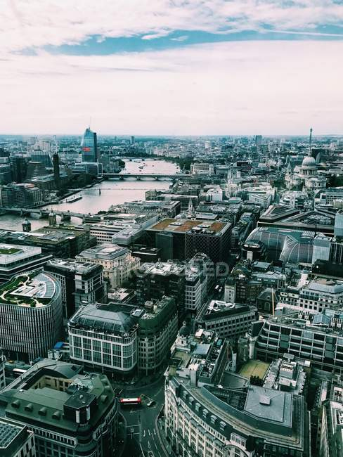 Вид на місто, Лондон, Англія, Великобританія — стокове фото