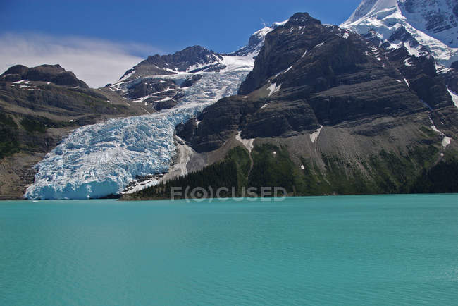 Scenic view of Mt Robson, British Columbia, Canada — Stock Photo