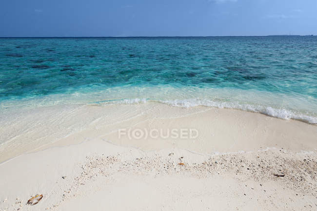 Scenic view of Tropical beach, Caribbean — Stock Photo