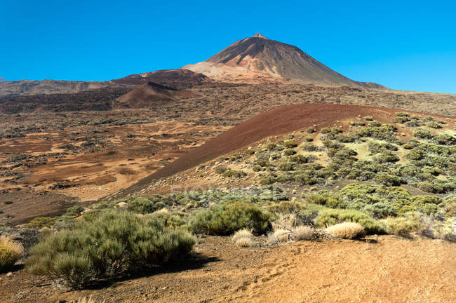 Scenic view of Mount Teide, Santa Cruz de Tenerife, Canary Islands, Spain — Stockfoto