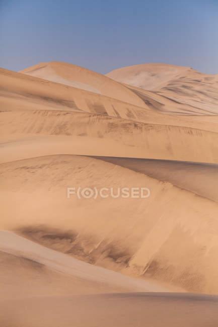 Vista panoramica del paesaggio desertico, Namibia — Foto stock