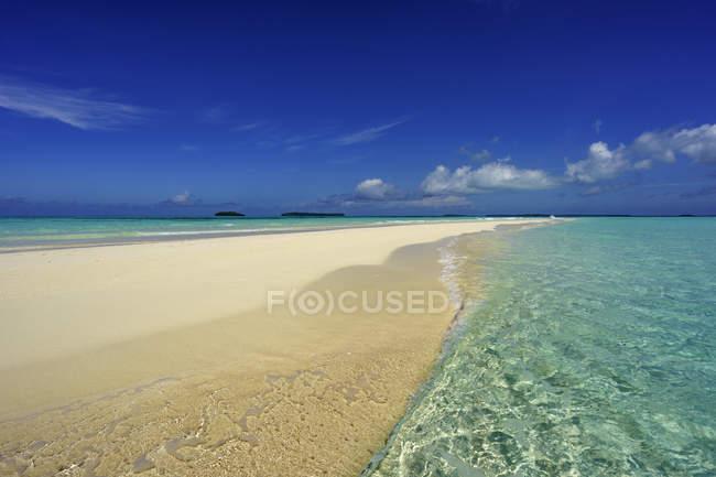 Scenic view of Ngurtavur beach, Kai Islands, Maluku, Indonesia — Stock Photo