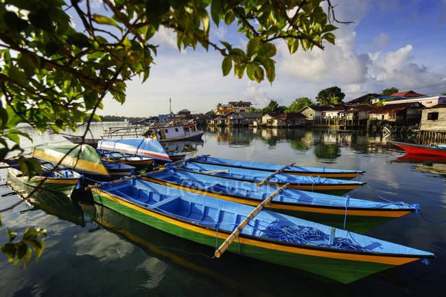 Langgur village, Kai Islands, Maluku, Indonesia — Stock Photo