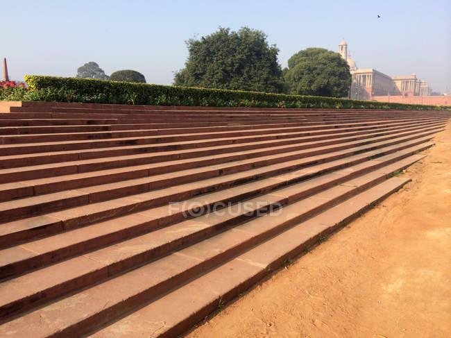 Architectural detail of the Rajpath, New Delhi, India — Stock Photo