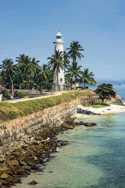 Vista panoramica sul Faro, Galle, Sri Lanka — Foto stock
