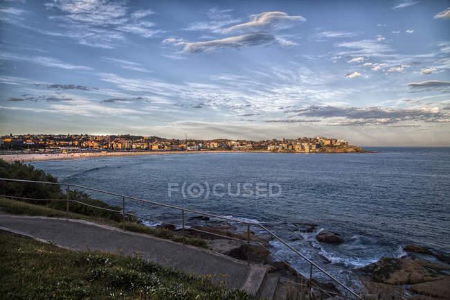 Scenic view of Bondi Beach, Sydney, New South Wales, Australia — Stock Photo
