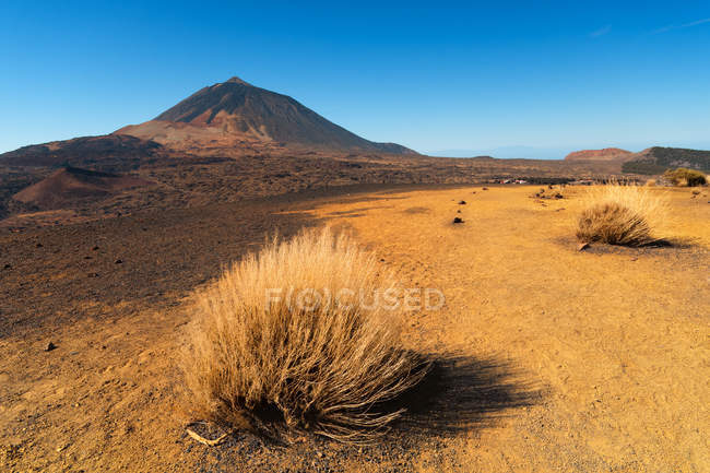 Scenic view of Mount Teide, Santa Cruz de Tenerife, Canary Islands, Spain — Stock Photo