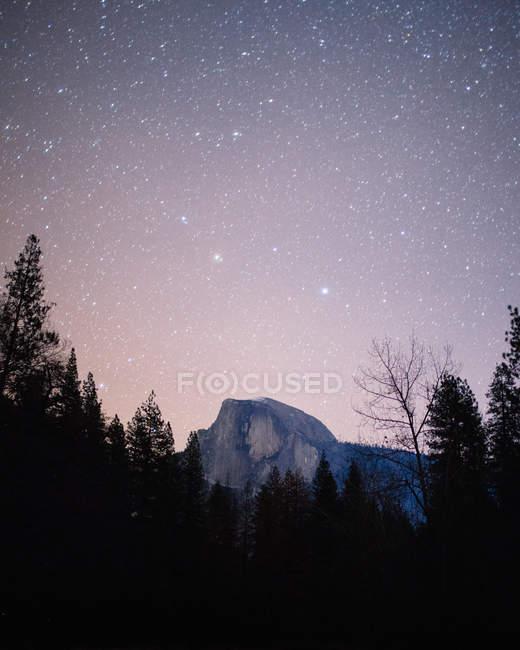 Vue panoramique sur El Capitan, Yosemite National Park, Amérique, Usa — Photo de stock