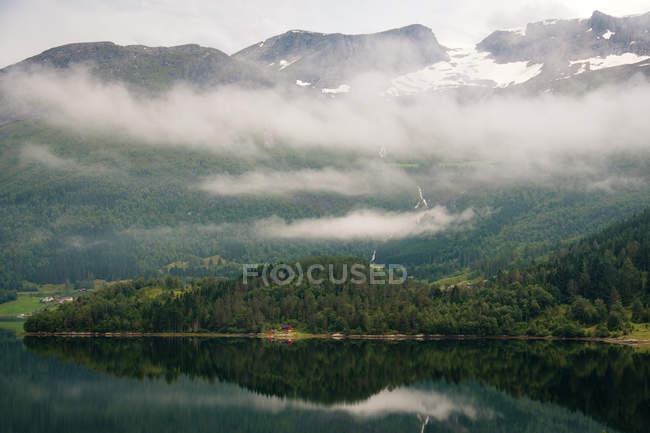 Scenic view of majestic norway landscape — Stock Photo