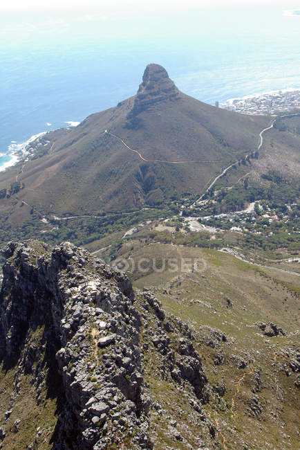 Scenic view of Lions Head, Cape Town, Western Cape, South Africa — Stock Photo