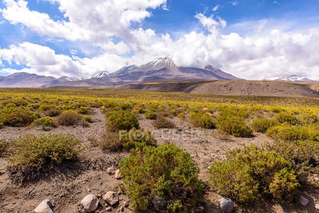 Malerischer Blick auf die Berglandschaft, San Pedro de Atacama, Antofagasta, Chili — Stockfoto