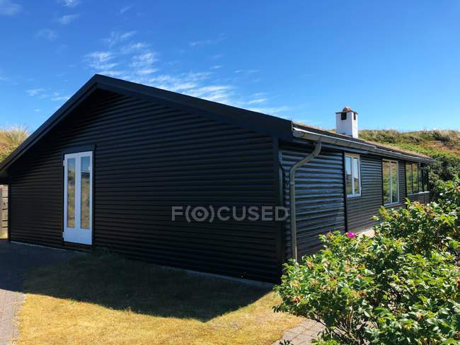 Vue panoramique de Summerhouse, Fanoe, Jutland, Danemark — Photo de stock