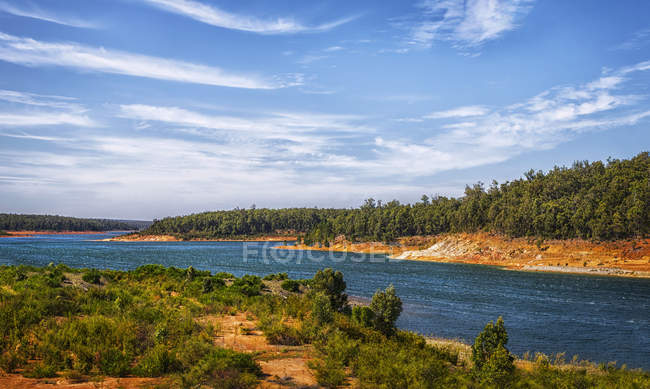 Scenic view of South Dandalup Dam, Western Australia, Australia — Stock Photo