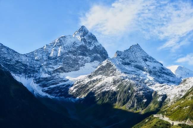 Malerischen Blick auf den Susten Mountain pass, Berenese Alpen, Schweiz — Stockfoto
