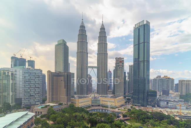 City skyline, Kuala Lumpur, Malaysia - foto de stock