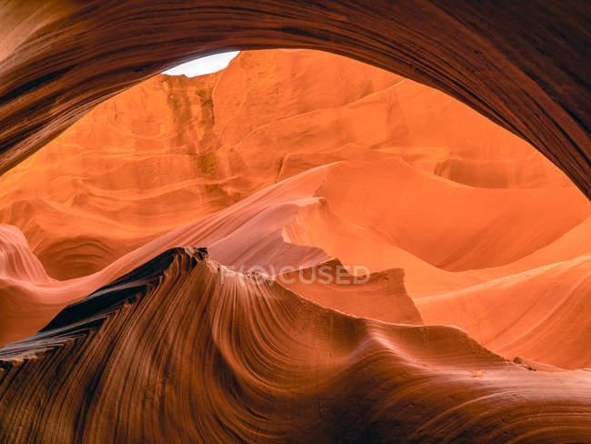 Close-up de Antelope Canyon, Arizona, América, EUA — Fotografia de Stock