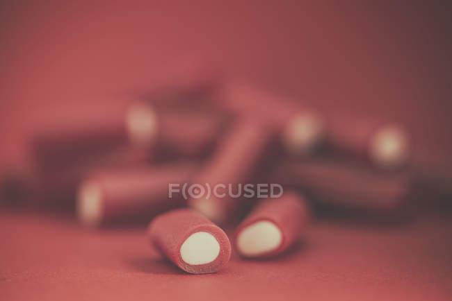 Nahaufnahme von Süßigkeiten aus Süßholz — Stockfoto