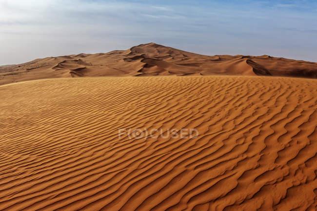 Закри піщані дюни в пустелі, Саудівська Аравія — стокове фото