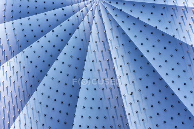 Close-Up view of an abstract fan shape — Stock Photo