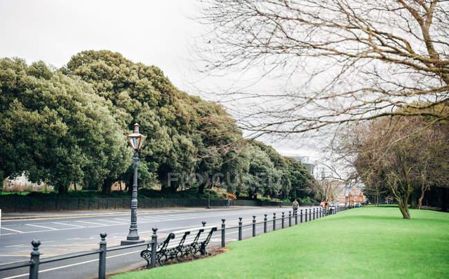 Vue panoramique de Phoenix Park, Dublin, Irlande — Photo de stock