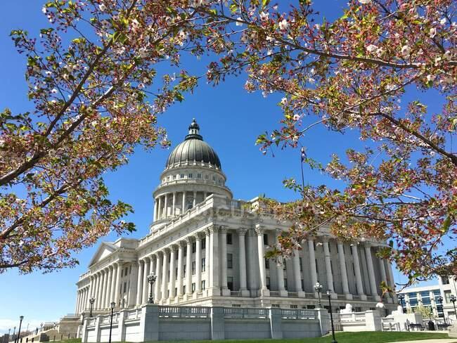 Utah State Capitol Building, Capitol Hill, Salt Lake City, Utah, EE.UU. - foto de stock