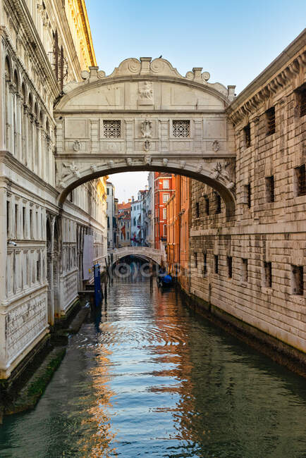 Bridge of Sighs, Venice, Veneto, Italy — Stock Photo