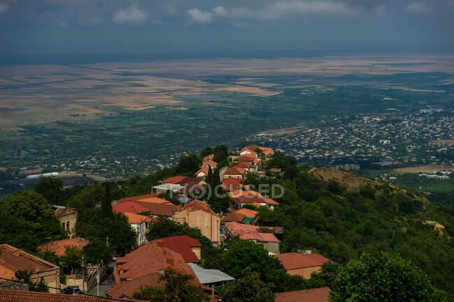 Повітряне місто, Сігнагі, Кахеті, Грузія — стокове фото