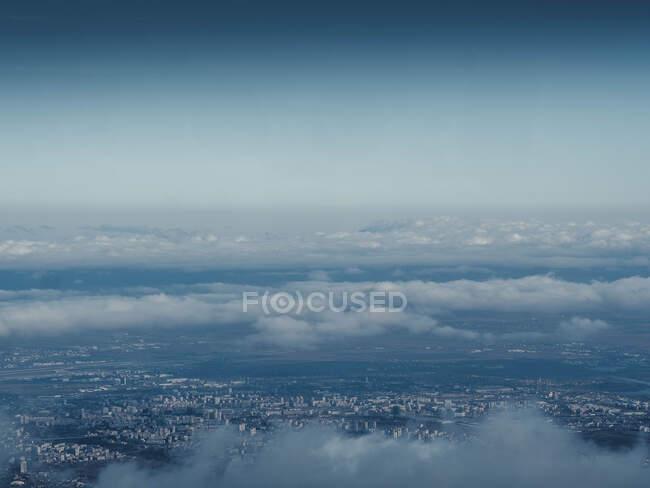 Vista aerea della città della capitale dello stato di Israele — Foto stock