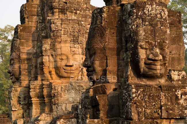 Храм Байона на заході сонця. — стокове фото