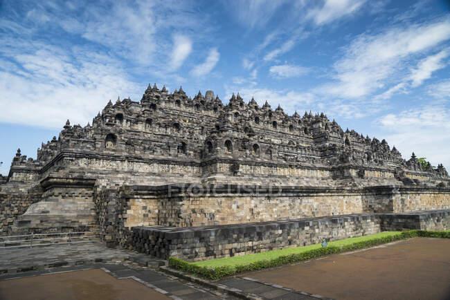 Храм Боробудур, Магеланг, Східна Ява, Індонезія — стокове фото