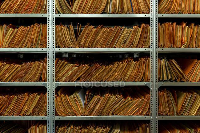 Stasi archives, Berlin, Germany — стокове фото