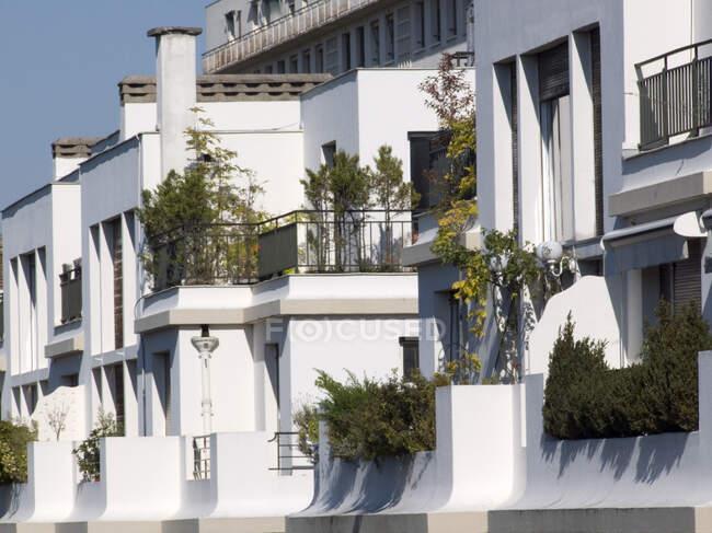 На початку 20 століття архітектура в 16-му окрузі Парижа (Франція). — стокове фото